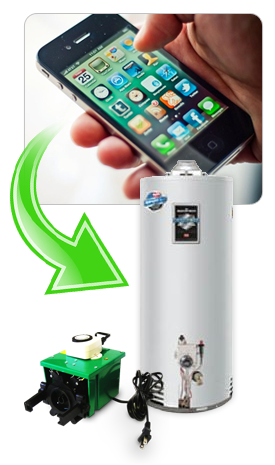 Wireless & Home Automation with the Gas Water Heater Timer